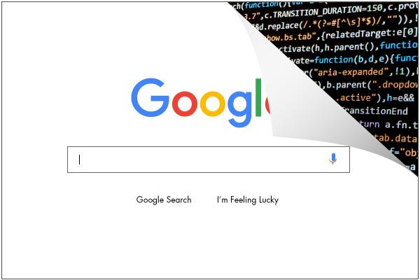 SEO tutorial Google Search bar