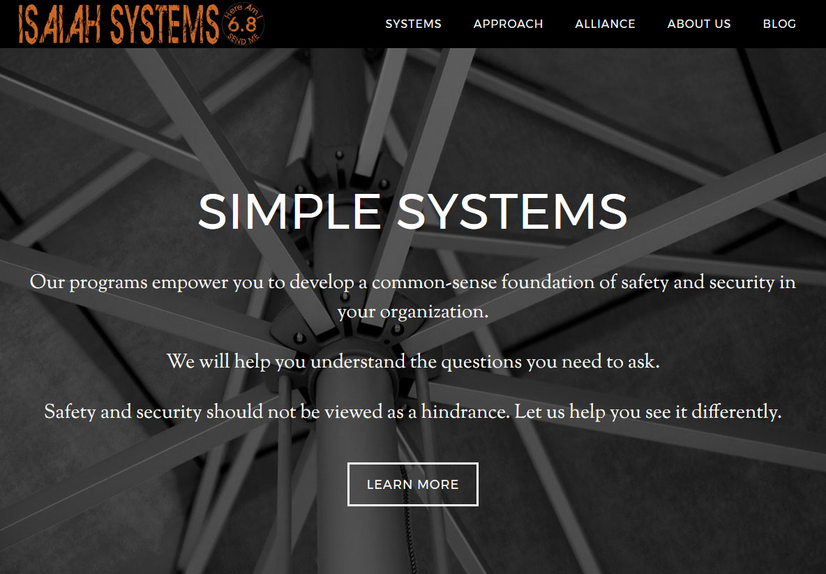Isaiah Systems Web Development by Andrew Dunn