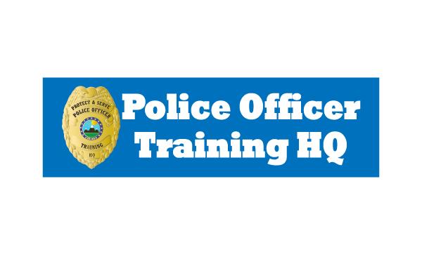 Police Officer Training HQ Logo