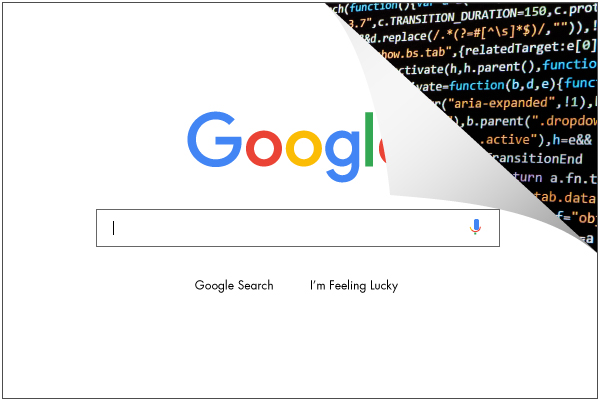 SEO tutorial Google Search bar