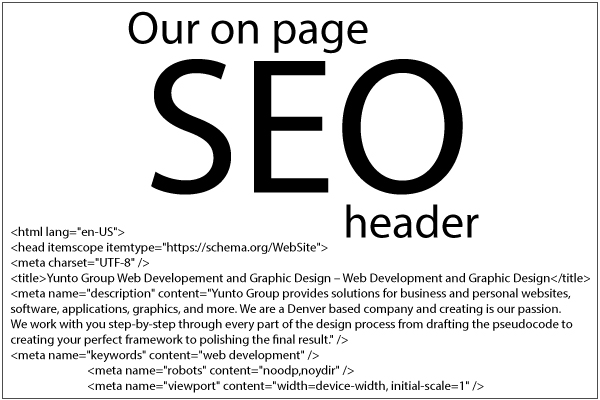 SEO tutorial Yunto Group header
