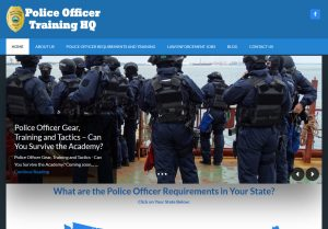 Police Officer Training Hq Web Development by Andrew Dunn