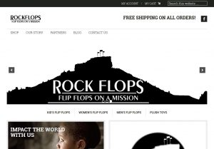 Rock Flops Web Development by Andrew Dunn